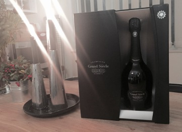 The nice box set of Grand Siècle by Laurent-Perrier